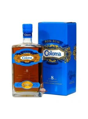 Ron Coloma 8 y.o. ex Bourbon finish (astucciato)