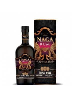 Rum Naga Triple Wood small batch 2018 (astucciato)