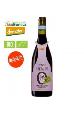 Montepulciano d'Abruzzo Mineraliae ZeroPuro Orsogna -Bio Demeter Senza Solfiti Vegan-